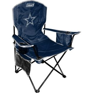 Dallas Cowboys Coleman Cooler Quad Chair – Navy