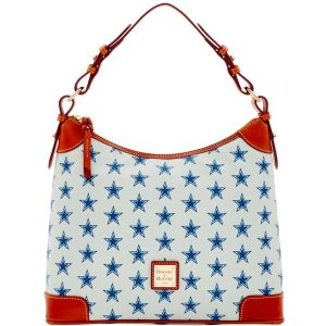Dallas Cowboys Dooney & Bourke Women's Hobo Purse – Silver