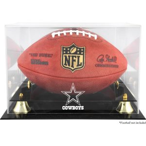 Dallas Cowboys Fanatics Authentic Golden Classic Team Logo Football Display Case