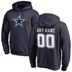 Dallas Cowboys Personalized Name & Number Pullover Hoodie