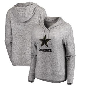 Dallas Cowboys Women's Cozy Collection Prestige Pullover Hoodie