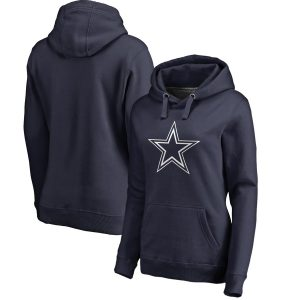 Dallas Cowboys NFL Pro Line by Fanatics Branded Women's Primary Logo Pullover Hoodie