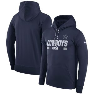 Dallas Cowboys Nike Men's Sideline ThermaFit Performance PO Hoodie