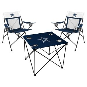 Dallas Cowboys Rawlings Deluxe 3-Piece Tailgate Chair & Table Kit