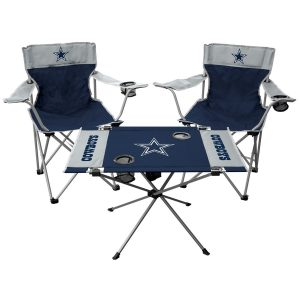 Dallas Cowboys Rawlings Tailgate Chair And Table Set