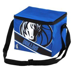 Dallas Mavericks Big Logo Stripe 6 Pack Cooler