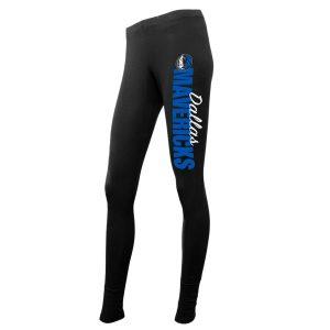 Dallas Mavericks Concepts Sport Women's Logo Leggings – Black