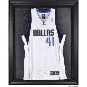 Dallas Mavericks Fanatics Authentic Black Framed Team Logo Jersey Display Case