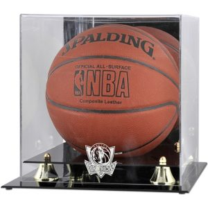 Dallas Mavericks Fanatics Authentic Golden Classic Team Logo Basketball Display Case