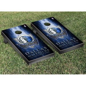 Dallas Mavericks Metal Design Cornhole Game Set