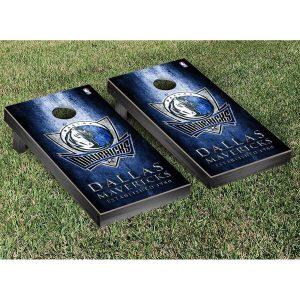 Dallas Mavericks Metal Design Cornhole Game Set