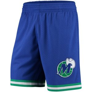 Dallas Mavericks Mitchell & Ness Hardwood Classics Swingman Shorts