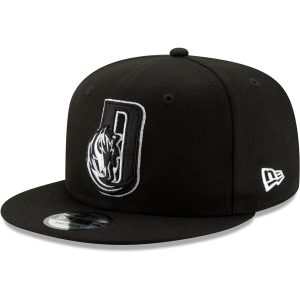 Dallas Mavericks New Era Back Half Series 9FIFTY Adjustable Snapback Hat