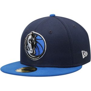 Dallas Mavericks New Era Official Team Color 2Tone 59FIFTY Fitted Hat