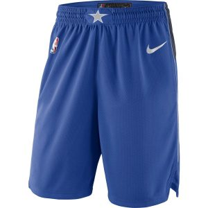 Dallas Mavericks Nike 2018/19 Icon Edition Swingman Shorts