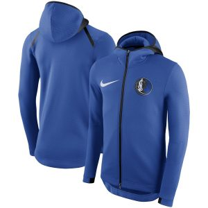 Dallas Mavericks Nike Showtime Therma Flex Performance Full-Zip Hoodie