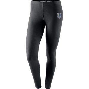 Dallas Mavericks Nike Women's Leg-A-See Tights – Black