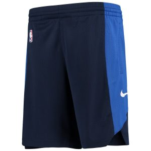 Dallas Mavericks Nike Youth Performance Practice Shorts