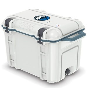 Dallas Mavericks OtterBox 45-Quart Cooler – White