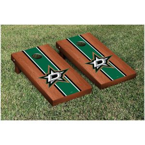 Dallas Stars 24″ x 48″ Rosewood Cornhole Game Set