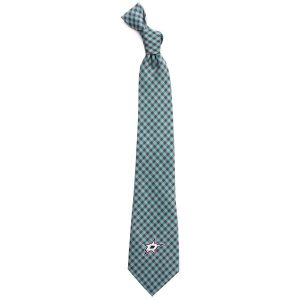 Dallas Stars Gingham Tie