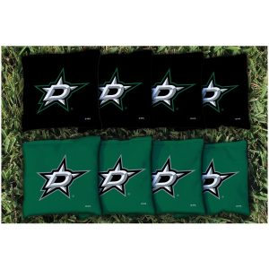 Dallas Stars Replacement Corn-Filled Cornhole Bag Set