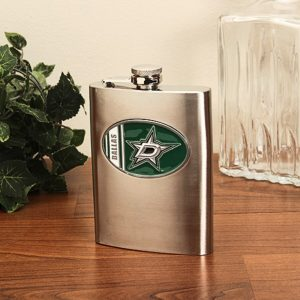 Dallas Stars Team Logo Flask