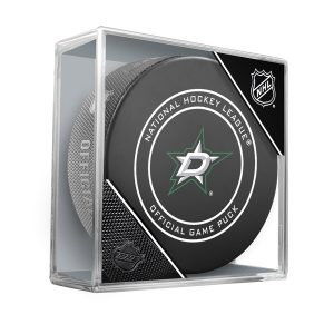 Dallas Stars Unsigned InGlasCo Official Game Puck