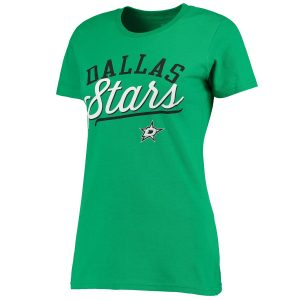Dallas Stars Women's Kelly Green Simplicity T-Shirt