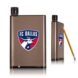 FC Dallas 14oz. A5 Smoke Flat Water Bottle