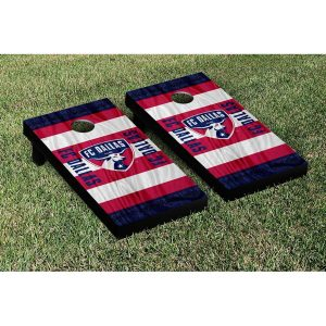 FC Dallas 2′ x 4′ Scarf Cornhole Game Set
