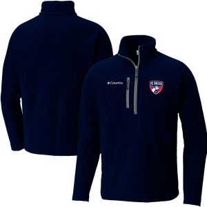 FC Dallas Columbia Fast Trek Fleece Half-Zip Pullover Jacket – Navy