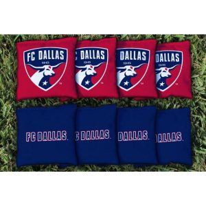 FC Dallas Cornhole Kernel-Filled Game Bag Set