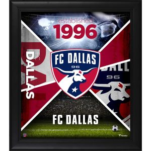 FC Dallas Fanatics Authentic Framed 15″ x 17″ Team Impact Collage