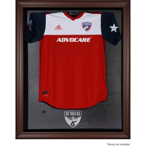 FC Dallas Fanatics Authentic Framed Brown Team Logo Jersey Display Case