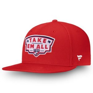 FC Dallas Fanatics Branded Hometown Adjustable Snapback Hat – Red