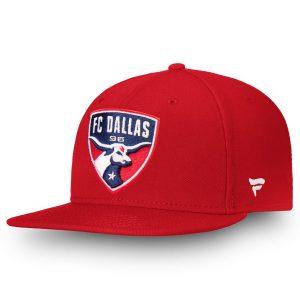 FC Dallas Fanatics Branded Primary Emblem Snapback Adjustable Hat