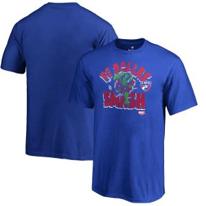 FC Dallas Fanatics Branded Youth MLS Marvel Hulk Smash T-Shirt – Royal