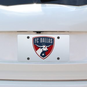 FC Dallas Inlaid Acrylic License Plate