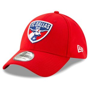 FC Dallas New Era Team Logo 39THIRTY Flex Hat – Red