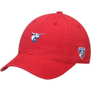 FC Dallas adidas Slouch Adjustable Dad Hat – Red