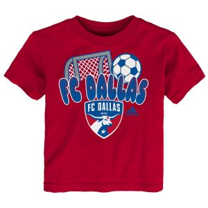FC Dallas adidas Toddler Score T-Shirt – Red