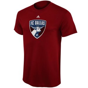 FC Dallas adidas Youth Primary Logo T-Shirt – Red