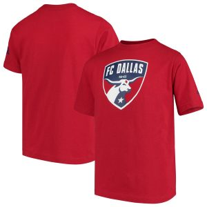 FC Dallas adidas Youth Squad Primary T-Shirt – Red