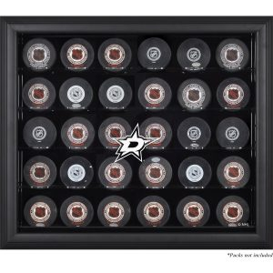 Fanatics Authentic Dallas Stars 30-Puck Black Display Case