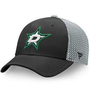 Fanatics Branded Dallas Stars Black/Gray Versalux Speed Flex Hat