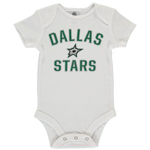 Fanatics Branded Dallas Stars Newborn & Infant White Victory Arch Bodysuit
