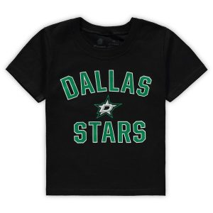 Fanatics Branded Dallas Stars Toddler Black Team Victory Arch T-Shirt