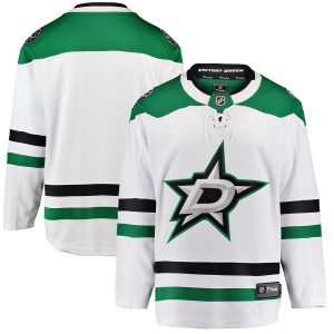 Fanatics Branded Dallas Stars White Breakaway Away Jersey