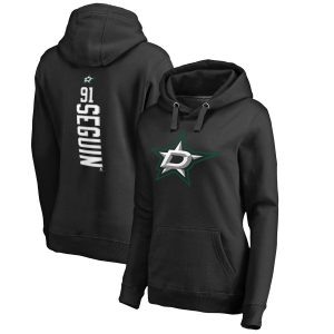 Fanatics Branded Tyler Seguin Dallas Stars Women's Black Backer Name & Number Pullover Hoodie